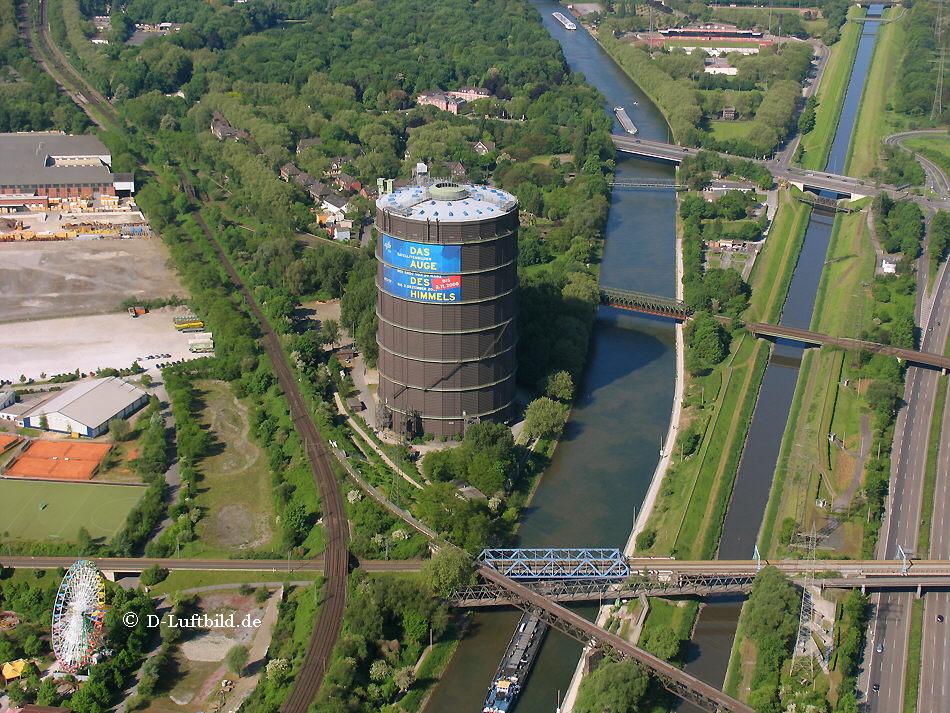 Luftbild Centro Oberhausen Und Gasometer
